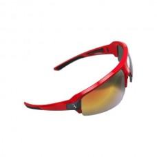 Brille bbb Impulse rød røg/klar/gul linse