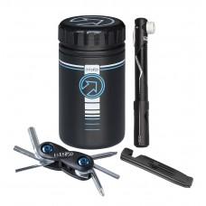 Combi pack PRO værktøjsbeholder/minipumpe mm.