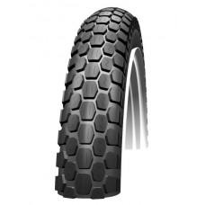Dæk 16x2 (20x2) sort cobra transport cykel