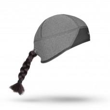Hjelmhue skull cap womens windster sort Grip Grab