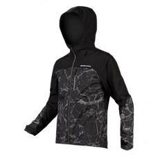 Jakke Singletrack XL Black Endura vandtæt - XL