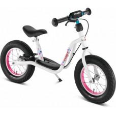 Løbecykel Str XL aPuky hvid/pink