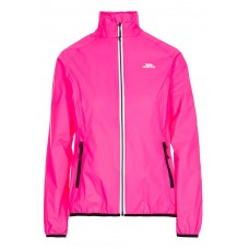 Regnjakke Beaming pakaway dame Trespass - Pink