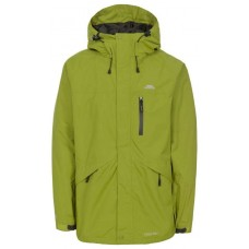 Regnjakke Corvo Herre Green Trespass - Cedar Green