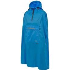 Regnjakke Qikpac Poncho Blå Trespass - Blå