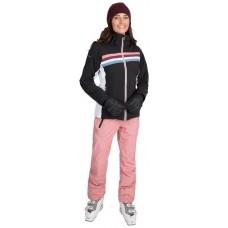 Skijakke Broadcast dame Trespass Inkl bukser - Black/White