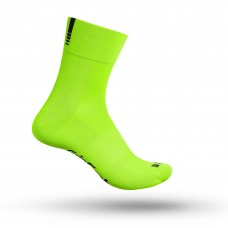 Strømpe Lightweight SL XS Fluo Yellow Grip Grab - XS