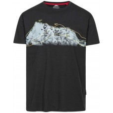 T-Shirt Cashing Herre Black Trespass  - Black