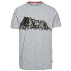 T-Shirt Cashing Herre Grey Trespass  - Grey
